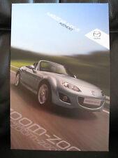 Mazda MX-5 Kendo - Sales Leaflet - March 2011.