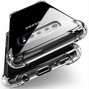 Clear Phone Cover for Samsung S20 S20+ S20 Ultra - Shockproof Tough Back Case