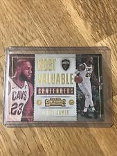 🏀☄️2017-18 Panini Contenders Most Valuable Contender LeBron James #7-Mint**rare