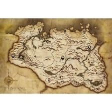 Province of Skyrim Map (glossy) PS3 or Xbox 360