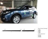 Tiras de Protección de Puerta Arco para Nissan X-Trail T32 SUV 5-Türer 2014