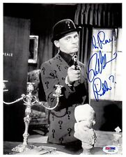 "PSA/DNA BATMAN FRANK GORSHIN ""RIDDLER ?"" AUTOGRAPHED-SIGNED 8X10 PHOTO AA92135"