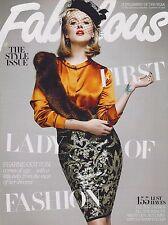 FABULOUS UK Magazine , 10 September 2011, Fearne Cotton, Dappy, Sara Cox