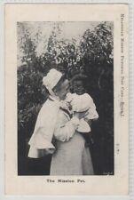 Melanesia Norfolk Island ? Anglican Mission Printed Postcard TPO Postmark 1905