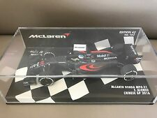 McLaren Honda MP4-31 F. Alonso Chinese GP 2016 scale 1:43 Minichamps NEW !!