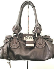 Chloe Paddington Bag. Metallic Bronze & Silver