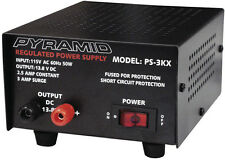 Pyramid PS3KX Power Supply 2 Amp Fully Regulated