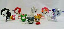 Tokidoki 5 Unicornos  Lot with 3 Cactus Pups