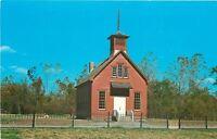 Rockville Parke County Indiana~Billie Creek Village~Little Red School House~1960