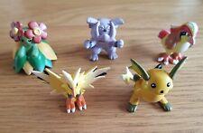 Officiel Original tomy pokemon Figure PIDGEOTTO RAICHU BELLOSOM ZAPDOS GRANBULL