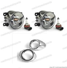 Clear Fog Light with Chrome Covers Kits for Ford Focus 2012-2014