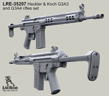 Live Resin 1/35 Heckler and Koch G3A3 and G3A4 Rifles Set