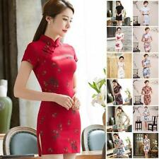 Unbranded Polyester Cheongsam/Qipao Dresses for Women
