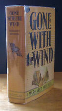 GONE WITH THE WIND (1936) MARGARET MITCHELL, PREMIERE BRICK, 1ST EDITION JUNE DJ