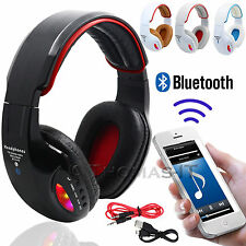 Wireless Bluetooth 4.2 HiFi Super Bass STEREO Headphone Headset Built In FM Mic