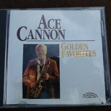 CD Ace Cannon Golden Favorites 1991 Ranwood Records 12 Songs