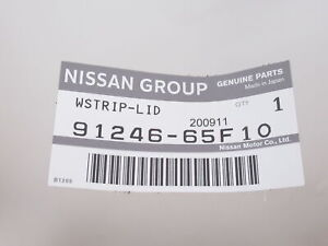 Genuine OEM Nissan 91246-65F10 Sunroof Weatherstrip Moulding 1995-1998 240SX