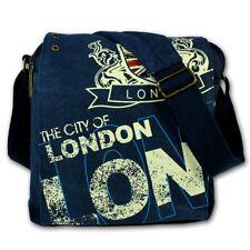 Robin Ruth Cabas / Sac à Suspendre en Tissu Bleu Marine Multicolore Londres City