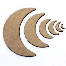 Moon MDF Shapes - 70mm - Custom Listing