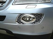 2006-2008 Mercedes W164 ML CHROME fog light surround trim ML320 ML350 ML500
