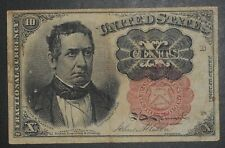 1874 USA FRACTIONAL CURRENCY 10 CENTS,  NICE CONDITION,