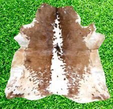 """New Cowhide Rug Hair On COW HIDE RUG Area Rug (31"""" x 31"""") CowSkin Hide 6.7 SF"""