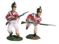 W. Britain - Napoleonic British Coldstream Guards Light Co Defending Set 2 17700
