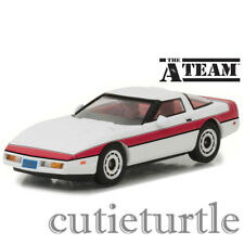 Greenlight The A-Team 1984 Chevrolet Corvette C4 1:43 Diecast Car 86517 White