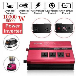 10000W converter Modified sine wave power inverter DC 12v to AC 240v invertor S