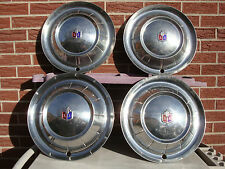 """1954 Plymouth Hubcaps 15"""" Set of 4 Wheel Covers 54 Hubcaps COOL"""