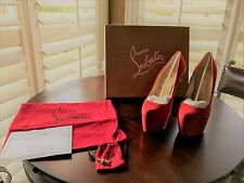 Christian Louboutin Corazon Red Daffodile 160 Size 35.5 BRAND NEW
