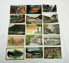 85 Postcards lot antique 1910s 1920s 1930s divided undivided rppc linen litho
