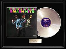 Jimi Hendrix Smash Hits White Gold Silver Platinum Tone Record Rare Track Lp