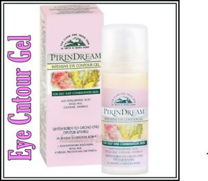 Intensive Eye Contour Gel  with Hyaluronic Acid Hydrating Skin 30 ml Pirin Dream