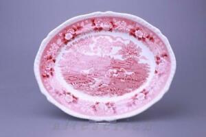Fleischplatte klein Adams English Scenic rot