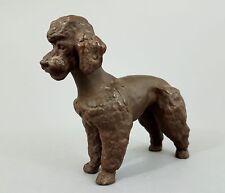 Meissen Pudel Figur aus Böttger Steinzeug Mod. 86128, Entwurf Etha Richter, Hund
