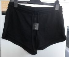 New Look Ladies Black Runner Shorts Size 12 ** Brand New **