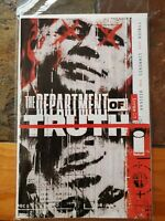 Department of Truth #1 Cover A Image Simmonds - James Tynion First Print