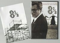 8 1/2 ~FREDERICO FELLINI~ **CRITERION COLLECTION R1 DVD WITH BOOKLET** FREE P&P