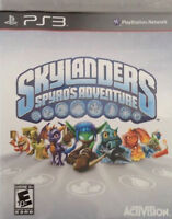 Skylanders Spyro's Adventure Sony PlayStation 3 PS3 Game With Manual Tested