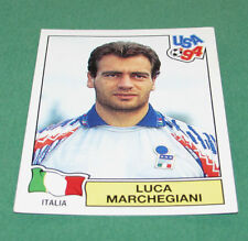 N°282 LUCA MARCHEGIANI ITALIA ITALIE ITALY PANINI FOOTBALL 1994 USA 94 WM94