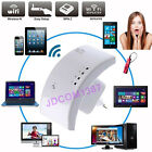 Mini 300Mbps Wireless Router Wifi Repeater AP Access Point 802.11b/g/n EU Plug J