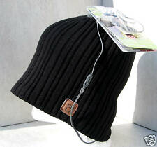 BULA BLACK RIB THRASHER STEREOHEAD IPOD MP3  BEANIE HAT