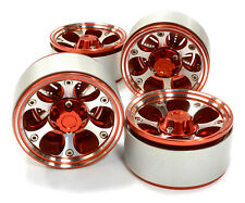 C26615RED Integy 1.9 Size Billet Alloy 6H Spoke Wheel(4)High Mass for Crawler