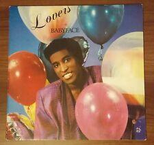 Lovers by Babyface Solar 22005 1988 Minos Records New Record Music Vinyl LP
