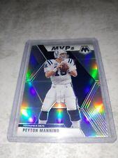 New listing PEYTON MANNING 2020 Panini Mosaic Silver Prizm MVPs 299 *RARE* Colts