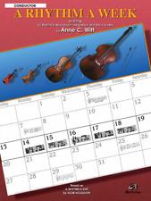 """A Rhythm a Week """"Conductor"""" Music Book-Brand New On Sale-Method/Instruction-W itt"""