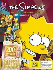 The SIMPSONS: The COMPLETE Season 9 DVD TV SERIES BRAND NEW 4-DISCS BOX SET R4