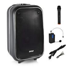 Portable PA Bluetooth Loudspeaker Speaker System Karaoke Microphone Recording