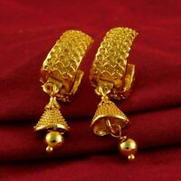 Indian Traditional Earrings 18K Golplated Drop/Dangle Bridal Fashion Jewellery